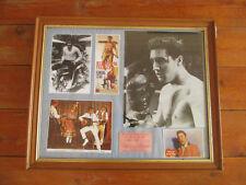 Elvis Presley Framed Photos pictures + postcard memorabilia large