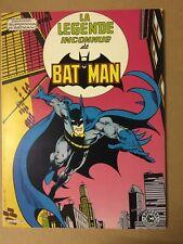La légende inconnue de Batman - Sagedition - 1981 - NEUF