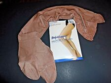 Body Wrappers A55/A55X Ultimate Shimmer Toast Footed Tights Shimmery New