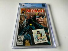 NOMAD V2 1 CGC 9.6 WHITE PAGES BUCKY MARVEL COMICS 1992