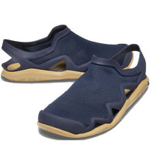 Crocs Swiftwater Mesh Wave Sandals Beach Shoes Navy Blue Mens Size 10 205701-4KL