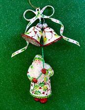 Patricia Breen 2010 Catz Exclusive Bellissima Santa Ornament, Holly