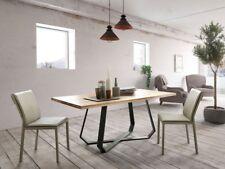 Altacom Esstisch Udine Eiche massiv 180x90 cm Küchentisch Holztisch Tisch NEU
