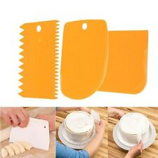 Raspador De Masa De Pan Pastel de harina 3 un./set Cortador Decoración Pastelería Repostería cuchillo