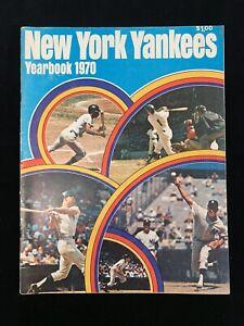 Original 1970 New York Yankees Official Baseball Yearbook w/ Thurman Munson - EX