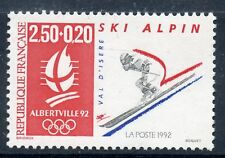 STAMP / TIMBRE FRANCE NEUF N° 2710 ** SPORT / SKI ALPIN JO ALBERVILLE