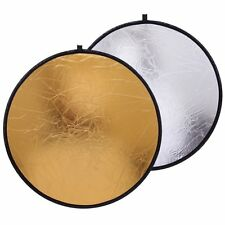 "Cowboystudio 22"" Photography Photo Portable Reflector 2 in1 Circular"