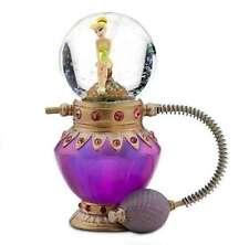 Disney Parks TinkerBell Perfume Atomizer Snowglobe Tinker Bell Peter Pan NWT