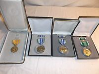 Bundle of 4 - US ARMY Military Merit Achievement Medals Ribbons 8553