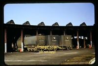 SP Southern Pacific Steam in Los Angeles in 1950's, Original Slide e4a