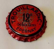 capsule de champagne dégorgement jéroboam TROUILLARD