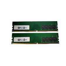 16GB 2X8GB Memory Ram DDR4 PC4-21300 2666MHz DIMM Desktop 288Pin Non-ECC CMS D22