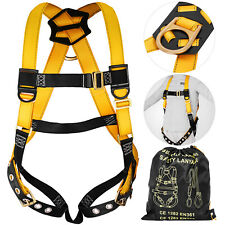 Safety Harness Prevent Fall Climbing Gear Roof Protection Lanyard Exofit CA