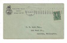 1906, Honolulu Hawaii, Advertising, Hawaiian Trust Co, Ltd, Palm Tree
