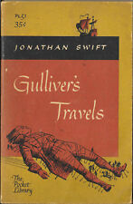 """""""GULLIVER'S TRAVELS"""" BY JONATHAN SWIFT THE POCKET LIBRARY PAPERBACK 1957"""