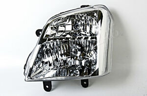 Headlight Crystal Front Lamp LH Fits Isuzu D-Max Holden Rodeo Denver TFR 2002-04