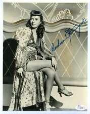 Barbara Stanwyck JSA Coa Hand Signed 8x10 Photo Autograph
