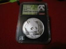 New Listing2018 China 1oz Silver S10Y Panda First Release Ngc Ms 69 #Mf-T3818