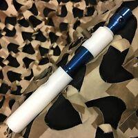 NEW Shocktech Spyder Supafly Side Cocking Upgrade Bolt - White/Blue