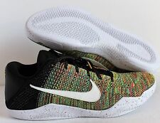 Nike Kobe XI Elite Low Flyknit iD Multicolor-Gold 2016 Men 903710-993 Sz
