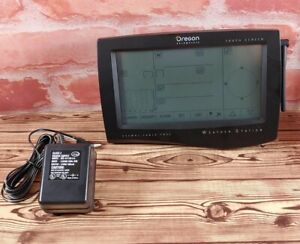 Oregon Scientific Wireless Weather Station Main Touch Screen Display     WMR968
