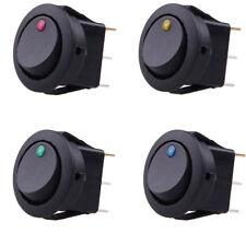 20 Stk 12V Auto KFZ LKW Schalter Wippenschalter LED Beleuchtet Wippschalter
