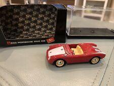 Vintage Brumm Porsche 550 RS Red 1:43 Diecast Model Car R233 NICE (ca)