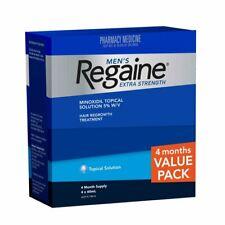 Regaine 4 months Extra Hair Loss Treatment for Men 5% Minoxidil Liquid