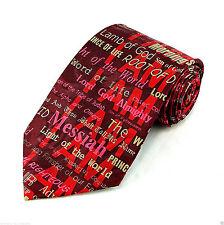 I AM The Christ Mens Neck Tie Religious Necktie Jesus Easter Christian Gift New