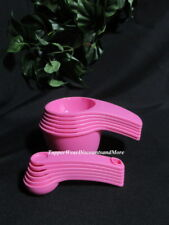 Tupperware Brand New Pink Measuring Cups & Spoons Set