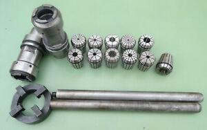 Spannzangenfutter HSK50 ER32 ER Spannzange 470E 3-16 mm Spannfutter Aufnahme HSK