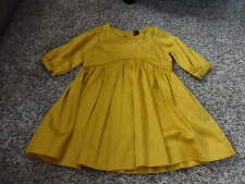 NWOT NEW BOUTIQUE TEA COLLECTION 3 MUSTARD YELLOW DRESS