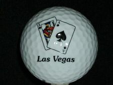 White Las Vegas Nike Golf Ball Jack of Clubs Ace of Clubs