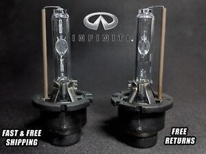 OE HID Headlight Bulb For Infiniti Q60 2014-2015 Low & High Beam Stock Fit Qty 2