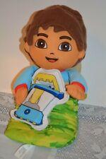 """Fisher Price Mattel Diego Pajama Pal Camping Light Up Talking Plush Toy Doll 16"""""""