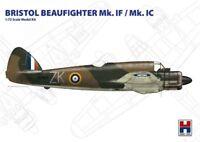 BEAUFIGHTER MK.I F/.I C (RAF, ITALIAN & CZECH MKGS) #72002 HOBBY2000/HASEGAWA