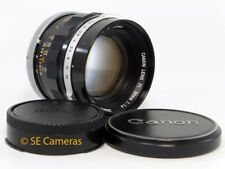 CANON FL 50MM F1.4 FAST PRIME FD LENS *EXCELLENT CONDITION*