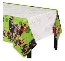 Jurassic World Plastic Table Cover ~ Dinosaur Birthday Party Supplies Animal