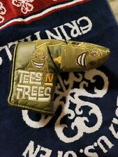🔥 2018 Scotty Cameron Tees And Trees Blade Putter Headcover 🔥