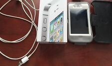 Apple iPhone 4s - 16GB - White (Sprint) Smartphone - Can be unlocked - Bundle