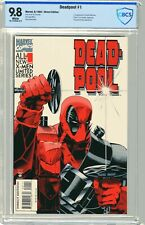Deadpool  #1 CBCS  9.8  NMMT   White pgs  8/94 1st App Dr. Kilebrew. Black Tom C