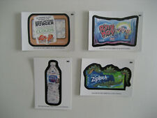 2020 Wacky Packages All New Series August Guest Artist Cards GA1 through GA4