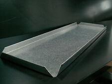 4 Plaque Tôle de comptoir acier inox 60x20x2 d'Occasion Cuir Feuille projection