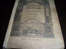 1818 Rare Original HIEROGLYPHICK BIBLE TETRAGRAMMATON  Watchtower research