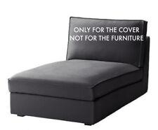 IKEA Kivik Chaise Lounge Slipcover Cover Dansbo Dark Gray 602.111.65 New