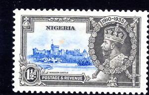 Nigeria Silver Jublee item 1935 MLH  KGV [N010921-3]