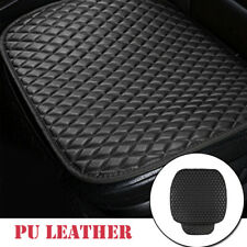 Universal SUV Seat Cover Pad Mat for Auto Breathable PU Leather Chair Cushion