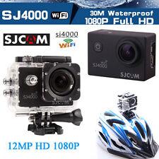 SJ4000 WiFi 12MP 1080P Sports Waterproof Mini DV Action Helmet Camera Car DVR