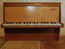 VERY RARE TOY PIANO MICHELSONNE PARIS 37 KEYS WORKING VERY WELL - SEE VIDEO