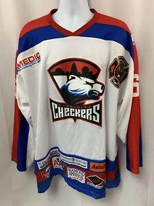 Charlotte Checkers OT Sports Hockey Jersey #61 Size XL Rare